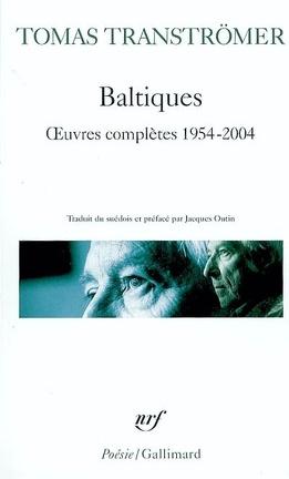 Couverture du livre : Baltiques : oeuvres complètes (1954-2004)