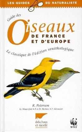 Couverture du livre : Guide des oiseaux de France et d'Europe