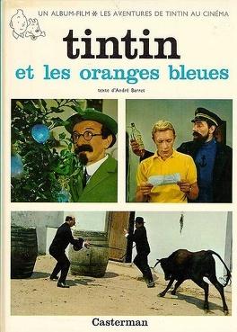 Couverture du livre : Tintin et les oranges bleues