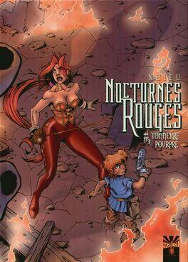 Couverture du livre : Nocturnes Rouges, Tome 3 : Tonnerre Pourpre