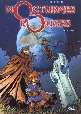 Couverture du livre : Nocturnes Rouges, Tome 1 : Sang noir