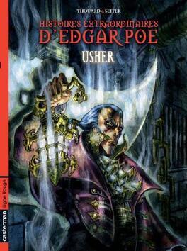 Couverture du livre : Histoires extraordinaires D'Edgar Poe, tome 2 : Usher
