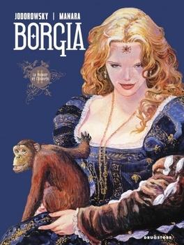 Couverture du livre : Borgia, tome 2 : Le pouvoir et l'inceste