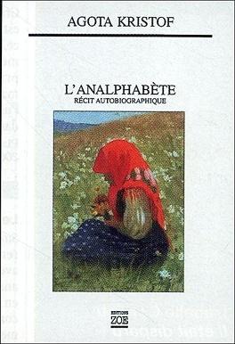 Couverture du livre : L'Analphabète