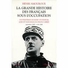 Couverture du livre : La Grande histoire des Français sous l'Occupation .. 8. Joies et douleurs du peuple libéré