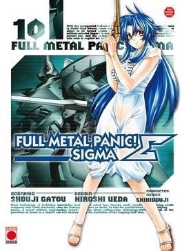 Couverture du livre : Full Metal Panic Σ (Sigma), Tome 10