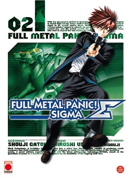 Couverture du livre : Full Metal Panic Σ (Sigma), Tome 2