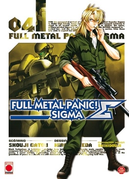 Couverture du livre : Full Metal Panic Σ (Sigma), Tome 4