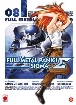 Couverture du livre : Full Metal Panic Σ (Sigma), Tome 8