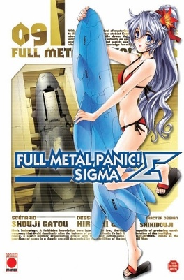 Couverture du livre : Full Metal Panic Σ (Sigma), Tome 9