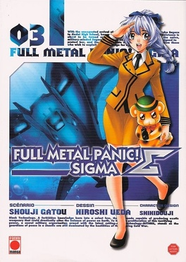 Couverture du livre : Full Metal Panic Σ (Sigma), Tome 3