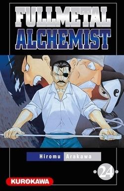 Couverture de Fullmetal Alchemist, tome 24