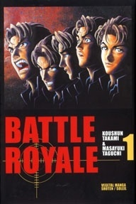 Couverture de Battle Royale, tome 1
