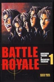 Couverture de Battle Royale, tome 1