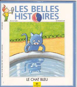 Couverture du livre : Les Belles Histoires de Pomme d'Api, n°294 : Le chat bleu