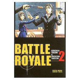 Couverture du livre : Battle Royale, tome 2