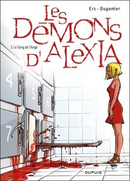 Couverture du livre : Les Démons d'Alexia, tome 5 : Le sang de l'Ange