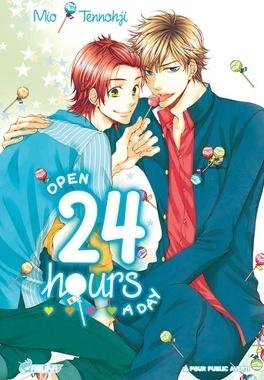 Couverture du livre : Open 24 hours a day