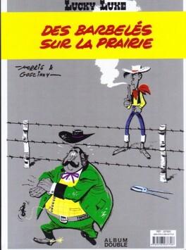 Couverture du livre : Lucky Luke : L'escorte - Des barbelés sur la prairie