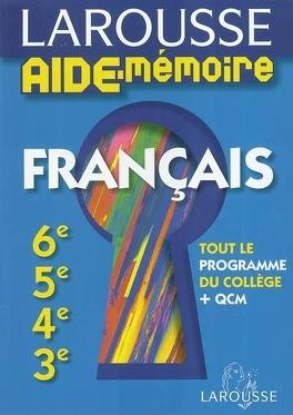 Francais 6e 5e 4e 3e Tout Le Programme Du College Qcm