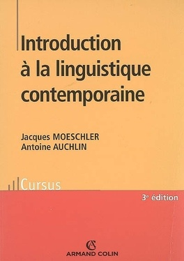 Couverture du livre : Introduction à la linguistique contemporaine