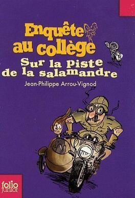 Couverture du livre : Sur la Piste de la Salamandre