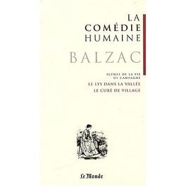 Couverture du livre : La Comédie humaine, tome 5 : Scènes de la vie de campagne : Le Lys dans la vallée ; Le Curé de village