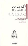 La Comédie humaine, tome 24 : Dictionnaire des personnages