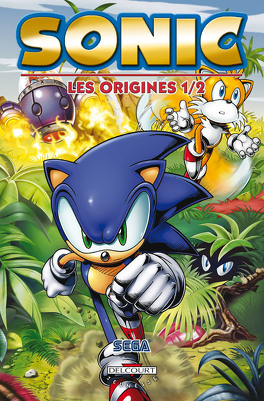 Couverture du livre : Sonic: Les Origines 1/2