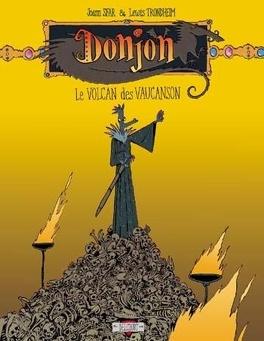 Couverture du livre : Donjon Crépuscule, niveau 102 : Le Volcan des Vaucanson