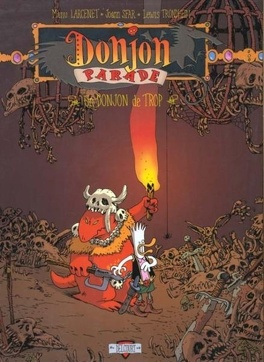 Couverture du livre : Donjon Parade, tome 1 : Un donjon de trop