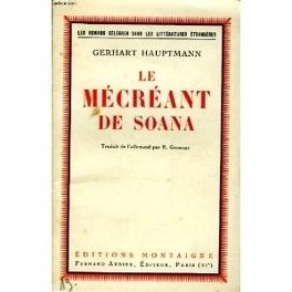 Couverture du livre : Le mécréant de Soana