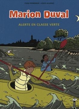 Couverture du livre : Marion Duval, Tome 17 : Alerte en classe verte