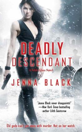 Couverture du livre : Nikki Glass, tome 2 : Deadly Descendant