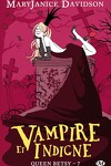 couverture Queen Betsy, Tome 7 : Vampire et Indigne