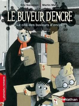 Couverture du livre : Draculivre, tome 3 : La Cité des Buveurs d'encre