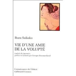 Couverture du livre : Vie d'une amie de la volupté
