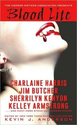 Couverture du livre : Blood Lite: An Anthology of Humorous Horror Stories