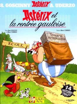 Couverture du livre : Astérix, Tome 32 : Astérix et la rentrée gauloise