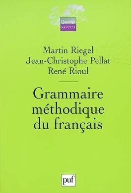 Couverture du livre : Grammaire méthodique du français