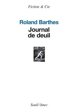 Couverture du livre : Journal de deuil : 26 octobre 1977-15 septembre 1979