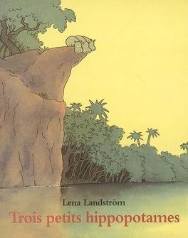Couverture du livre : Trois petits hippopotames