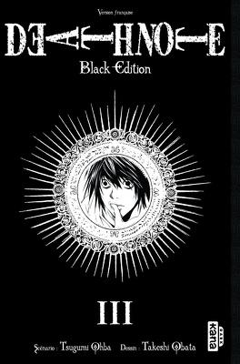 Couverture du livre : Death Note : Black Edition, Tome 3
