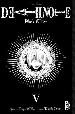 Couverture du livre : Death Note : Black Edition, Tome 5