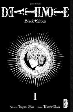 Couverture du livre : Death Note : Black Edition, Tome 1