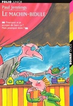 Couverture du livre : Le Machin-Bidule