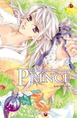 Couverture du livre : Un baiser pour mon prince, Tome 4