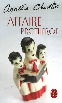 Couverture du livre : L'affaire Prothero