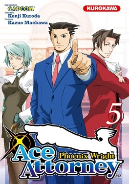 Couverture du livre : Ace Attorney : Phoenix Wright, Tome 5