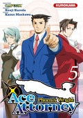 Ace Attorney : Phoenix Wright, Tome 5